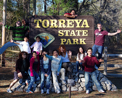 CIES students at Torreya State Park