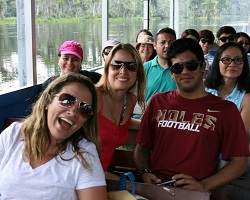 CIES students at Wakulla Springs