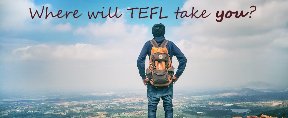 Where will TEFL take you? banner